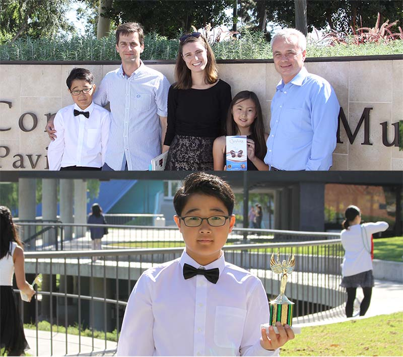 SYMF 2017 winners: Russian School of Music Irvine, CA